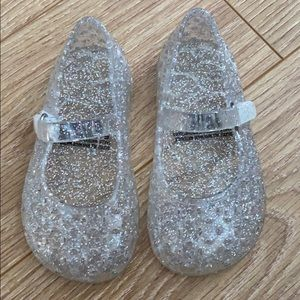 Glitter jelly shoes - Size 5 toddler